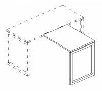 Брифинг-приставка на металлокаркасе QUATTRO A4 Б4 072 БП