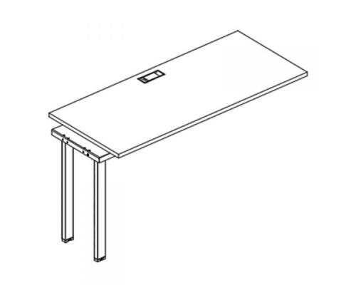 Секция стола рабочей станции на металлокаркасе UNO A4 Б1 005-1 БП