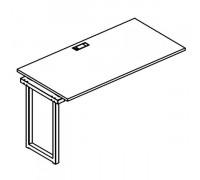 Секция стола рабочей станции на металлокаркасе QUATTRO A4 Б4 013-1 БП