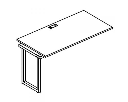 Секция стола рабочей станции на металлокаркасе QUATTRO A4 Б4 014-1 БП