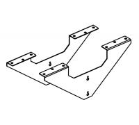 Кронштейн-усилитель рабочей станции (к-т 2 шт.) A4 QB-01 (Y)