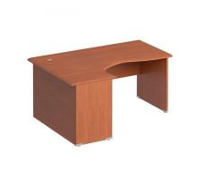 Офисный стол левый (опоры ДСП) Матрица ФС 108