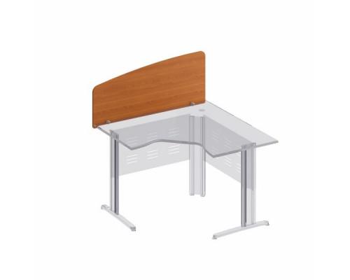 Экран настольный боковой стола эргономичного без кронштейнов Формула МФ ФР 425