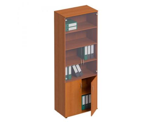 Шкаф для документов со стеклом Формула МП ФР 379