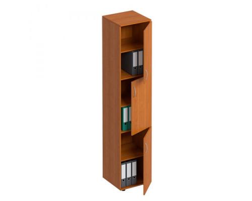 Шкаф для документов 3-дверный узкий Формула МП ФР 385
