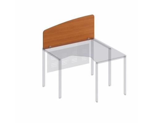 Экран настольный боковой стола эргономичного без кронштейнов Формула МП ФР 425