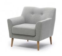 Кресло Lamella 1 UNO Silver
