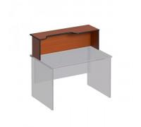 Надстройка к столу с вырезом левая Дин-Р ДР 468