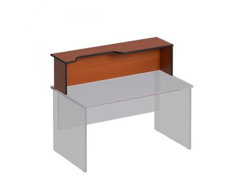 Надстройка к столу с вырезом левая Дин-Р ДР 470