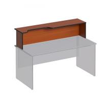 Надстройка к столу с вырезом левая Дин-Р ДР 472
