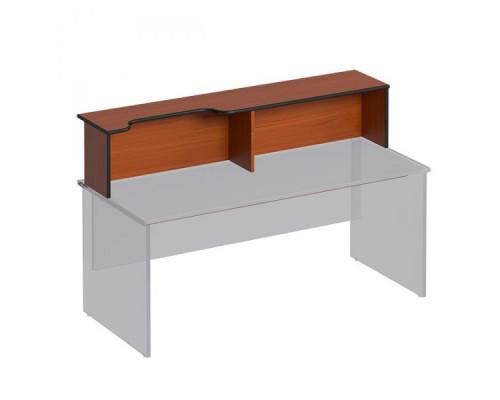 Надстройка к столу с вырезом левая Дин-Р ДР 474