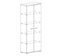 Шкаф для документов закрытый Albero А4 9372
