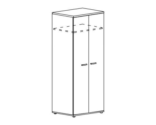 Шкаф для одежды глубокий Albero А4 9311