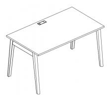 Стол письменный Albero АЛ 9023