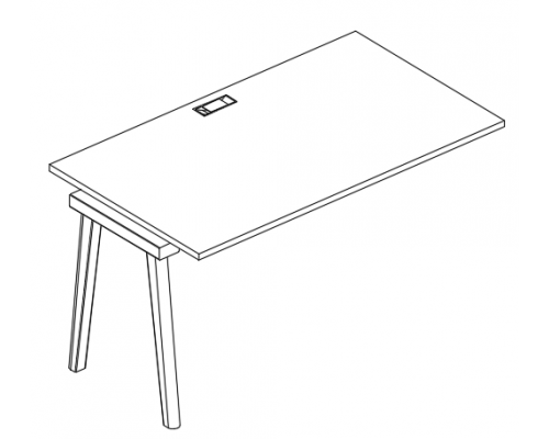 Секция стола рабочей станции Albero АЛ 9023-1
