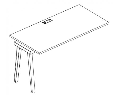 Секция стола рабочей станции Albero АЛ 9014-1