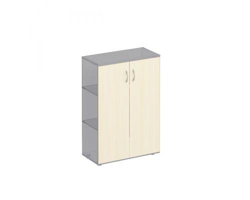 Двери деревянные средние (2шт.) Комфорт МП2 К 434