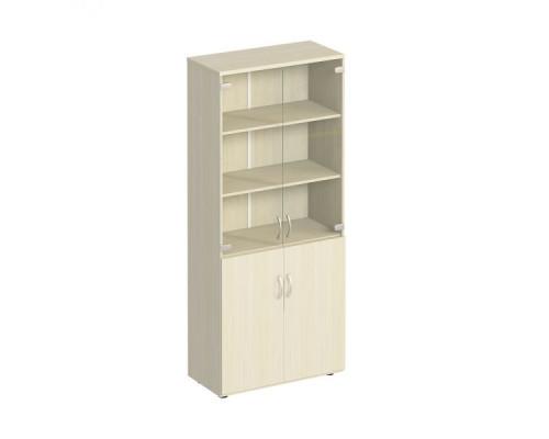 Шкаф для документов со стеклом Комфорт МП2 К 379