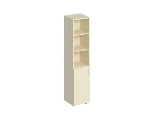 Шкаф для документов узкий полузакрытый Комфорт МП2 К 380
