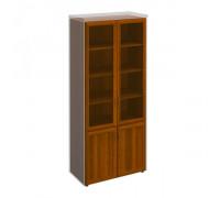 Шкаф для документов со стеклянными дверями в рамке Мастер МТ 379