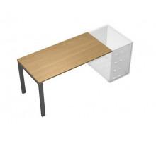 Стол письменный без опоры (тумбы приставной левой/правой) UP! АП 0110 ГА