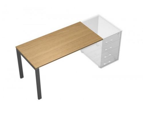 Стол письменный без опоры (тумбы приставной левой/правой) UP! АП 0111 ГА