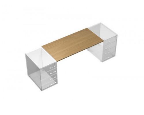 Рабочий стол без опор (без тумб приставных) UP! АП 0114 ГА