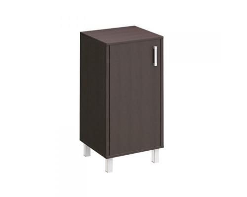 Шкаф для документов низкий универсальный ЛЕВЫЙ, дверь ДСП без замка Борн В 411-811