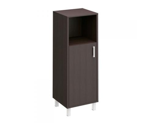 Шкаф для документов ЛЕВЫЙ, дверь ДСП без замка + ниша Борн В 421-811