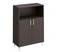 Шкаф для документов двери ДСП с замком +ниша Борн В 420-821-1