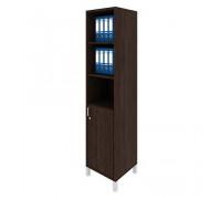 Шкаф для документов правый, дверь ДСП без замка + ниши Борн В 431-812