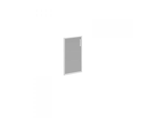 Дверь стеклянная левая тонированная в алюминиевой раме Борн В 512L ХР