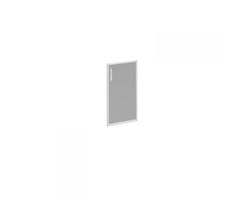 Дверь стеклянная правая тонированная в алюминиевой раме Борн В 512R ХР