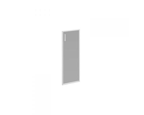 Дверь стеклянная правая тонированная в алюминиевой раме Борн В 522R ХР