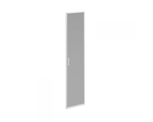 Дверь стеклянная тонированная в алюминиевой рамке Борн В 532 ХР