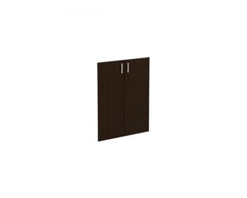 Дверь деревянная (комплект 2 шт.) без замка Борн В 555